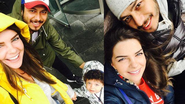 Pelin Karahan, eşi Bedri Güntay'la yemeğe çıktı