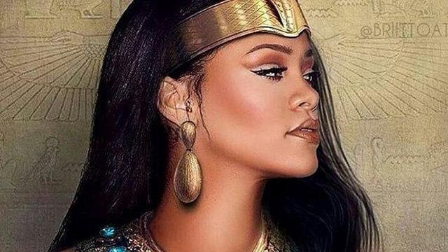Gazete Habertürk'te yer alan habere göre, Barbadoslu şarkıcı Rihanna, Vogue Arabia'nın kasım sayısı için kamera karşısına geçti.