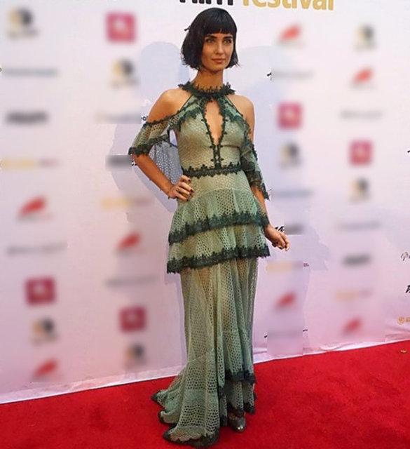 Tuba Büyüküstün Los Angeles'ta düzenlenen Uluslararası Asya Film Festivali'ndeydi.