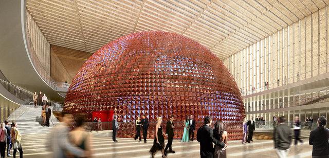 Cumhurbaşkanı Recep Tayyip Erdoğan, yeni AKM binasının 2019 yılının ilk çeyreğinde bitirileceğini söyledi.
