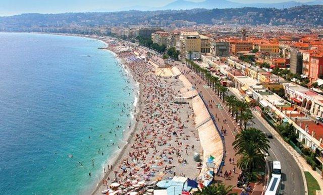 100. Nice, Fransa Ziyaretçi sayısı: 2,141 milyon