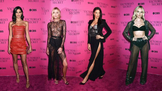Geçtiğimiz hafta Çin'in Şanghay kentinde düzenlenen Victoria's Secret defilesine katılan modeller bu kez New York'ta bir araya geldi.