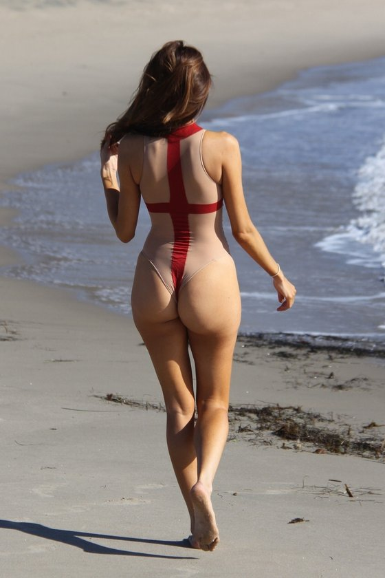 Plajın kusursuz güzeli