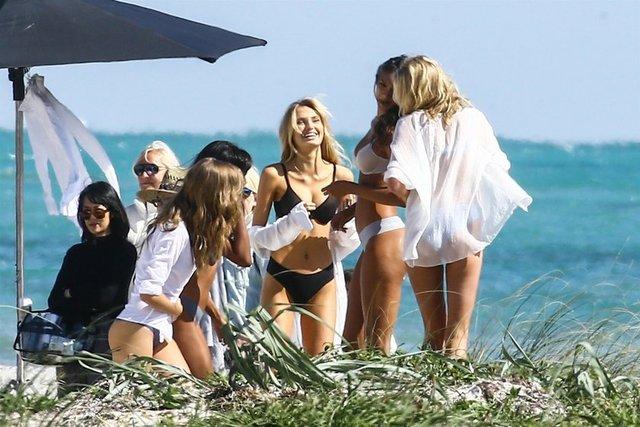 Victoria's Secret'ın gözde modelleri firmanın yeni sezon kataloğu için objektif karşısına geçti.