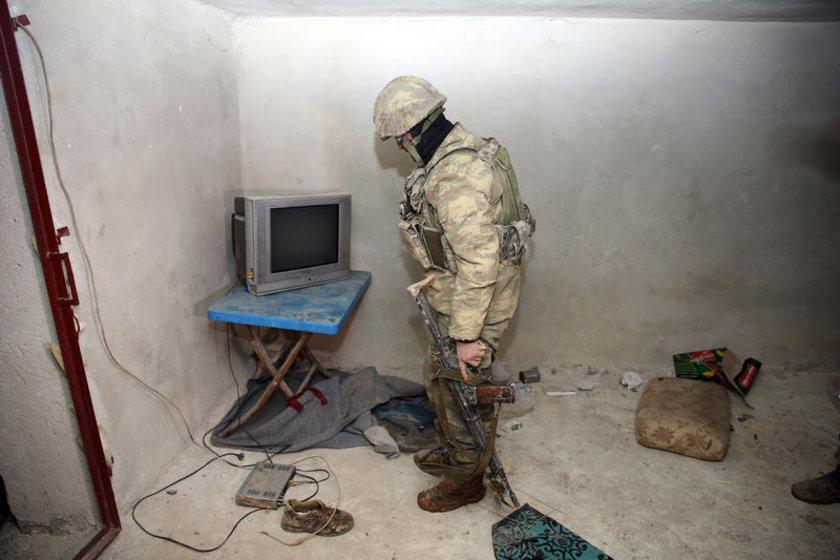 <p>Dün, terör örgütünün televizyonlu tüneli bulunmuştu.</p>