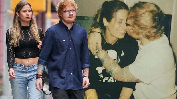 Ed Sheeran, çocukluk aşkı Cherry Seaborn ile evleniyor