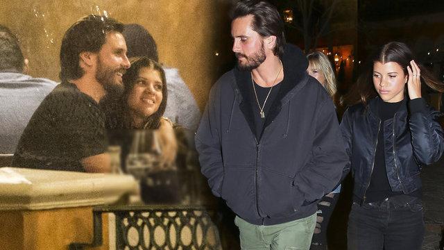 Sofia Richie ve Scott Disick ikilisi akşam yemeği yerken görüntülendi.