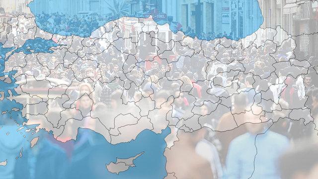 Türkiye İstatistik Kurumu (TÜİK), 'Adrese Dayalı Nüfus Kayıt Sistemi 2017 Sonuçları'nı açıkladı. 17 şehrin Türkiye sıralaması değişti, hangi şehrin nüfusu ne oldu? HABERTURK.COM/ÖZEL HABER