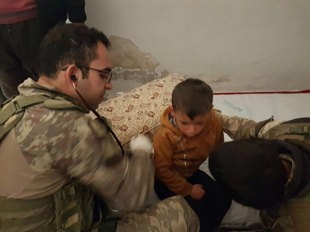 İşte Afrin'den gelen son kareler