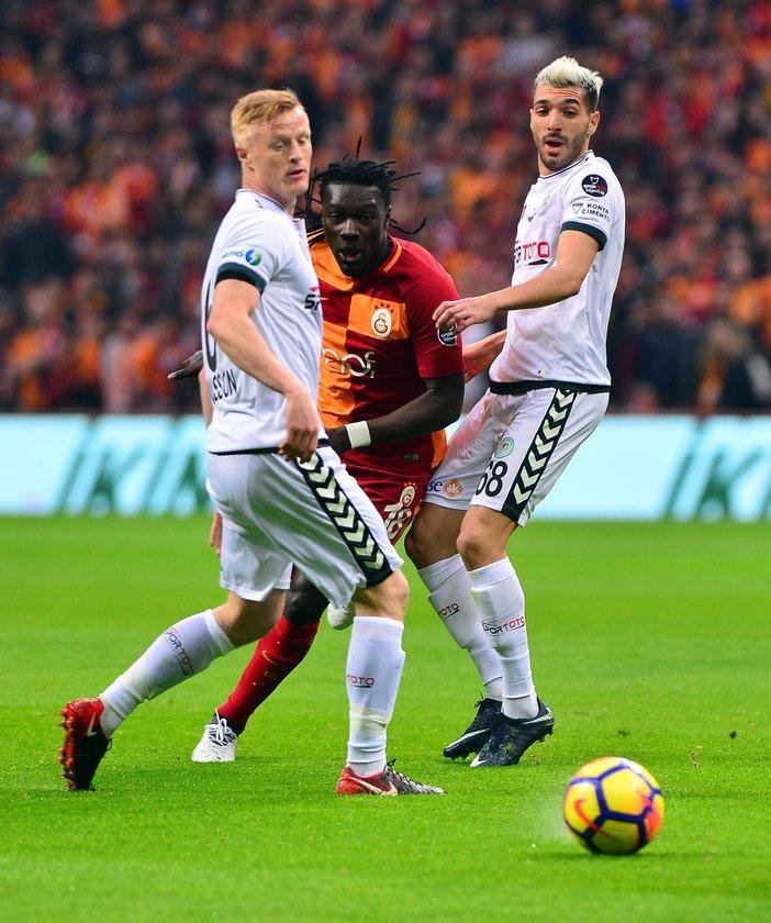 Galatasaray-konya maçı sonucu