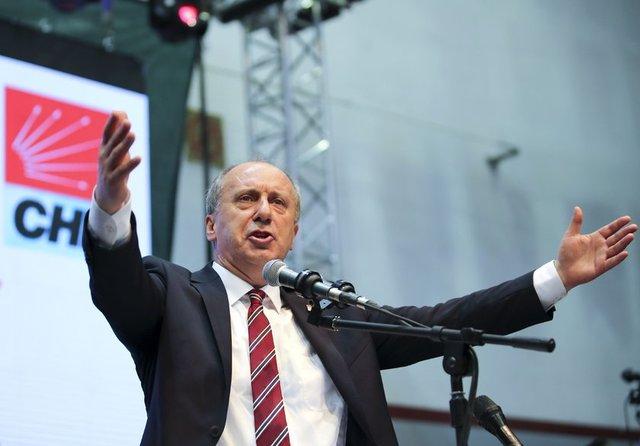 CHP Yalova Milletvekili Muharrem İnce, 24 Haziran'da yapılacak cumhurbaşkanı seçiminde CHP'nin cumhurbaşkanı adayı oldu.