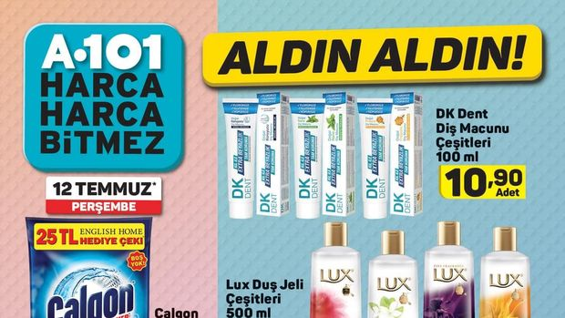 A101 12 Temmuz Aktüel ürünler kataloğu!