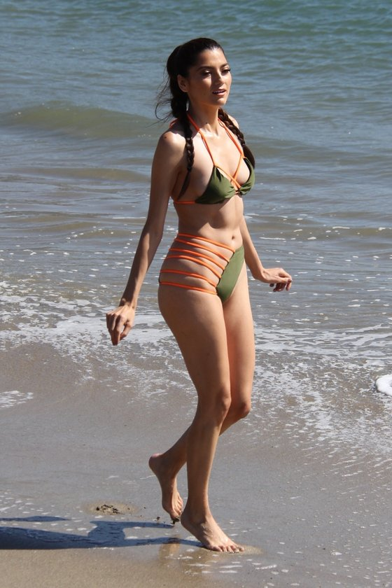 Malibu'da deniz keyfi...