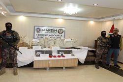 Mardin'de 250 kilo patlayıcı bulundu