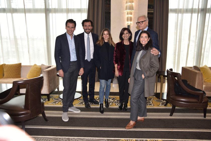 <p>RIFAT, EDİZ- GABRIELA, FERY, ALBERT-MARINA ELHADEF</p>