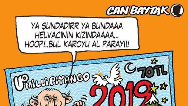 Can Baytak karikatürleri (Aralık 2018)