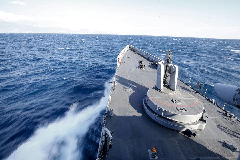 <p>Tatbikat, Deniz Harp Merkezi Komutanlığı Tatbikat Kontrol Merkezince sevk ve idare ediliyor.</p>\n<p></p>