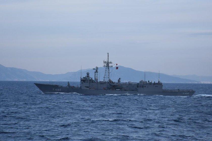 <p>Tatbikatın Doğu Akdeniz'i kapsayan bölümüne, Marmaris Aksaz Limanı'ndan çıkan 5 fırkateyn, 4 hücumbot, 2 denizaltı, 2 mayın avlama gemisi, 1 amfibi çıkarma gemisi, 1 akaryakıt gemisi, 4 yeni tip karakol botu, 1 Sahil Güvenlik Arama Kurtarma Gemisi ve 3 yardımcı sınıf gemileri ile SAS, SAT ve Amfibi hücum timleri ve deniz ve hava kuvvetlerine bağlı unsurlar katılıyor.</p>