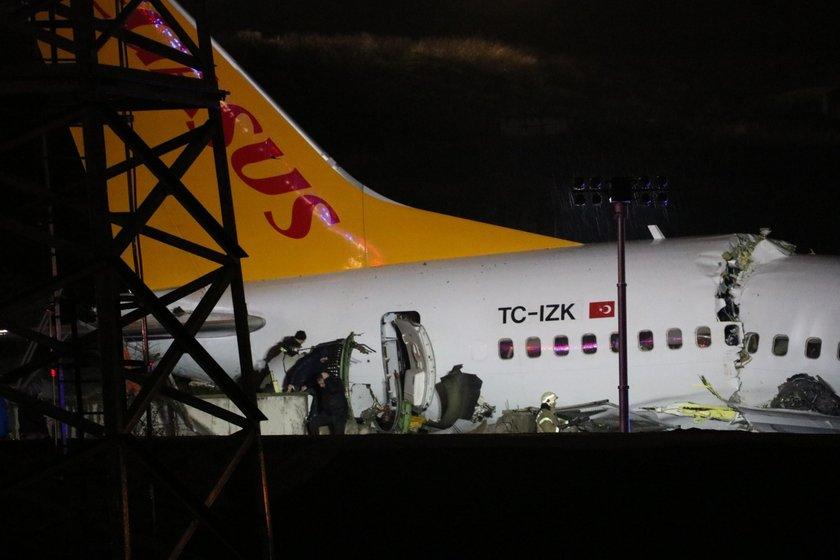 <p><strong>İSTANBUL VALİSİ YERLİKAYA'DAN AÇIKLAMA</strong></p>\n<p>İstanbul Valisi Ali Yerlikaya, Sabiha Gökçen Havalimanı'nda pistten çıkan uçağa ilişkin, \