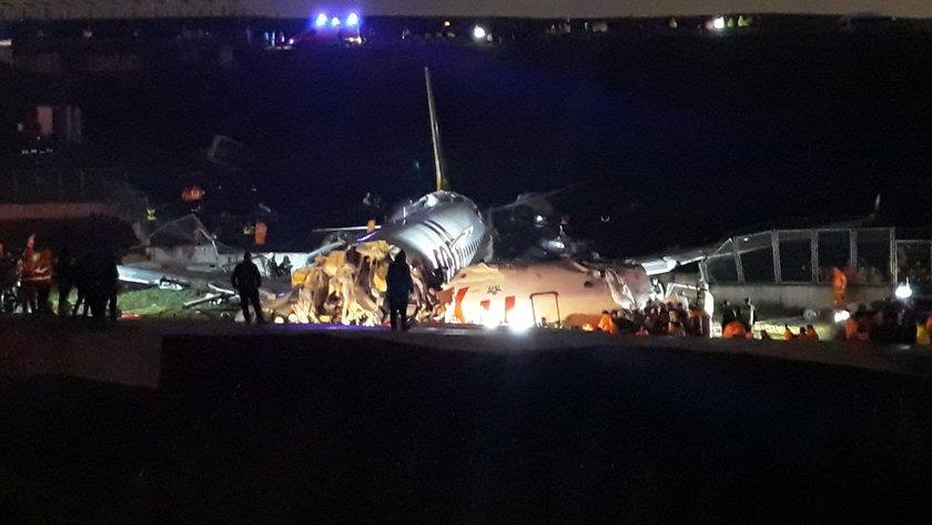 <p><strong>BAKAN TURHAN: HERHANGİ BİR KAYIP YOK</strong></p>\n<p>Ulaştırma ve Altyapı Bakanı Mehmet Cahit Turhan, Sabiha Gökçen Havalimanı'nda pistten çıkan uçağa ilişkin, \