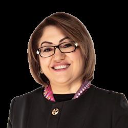 Fatma Şahin - Büyükşehir Belediye Başkan Adayı
