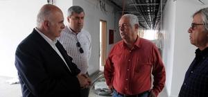 Kara Havacılık Okulu inşaatında sona yaklaşıldı