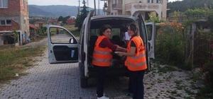 HAMAMÖZÜ'NDE 60 EVE İFTAR YEMEĞİ