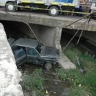 Yozgat'ta otomobil dereye devrildi: 1 yaralı