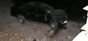 Tokat'ta kamyonet şarampole devrildi: 4 yaralı