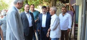 AK Parti Diyarbakır İl Başkanı Akar'ın ilçe ziyaretleri