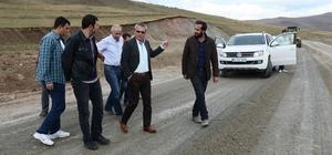 VALİ DENİZ, ARDAHAN- POSOF KARAYOLUNDA DENETLEMELERDE BULUNDU