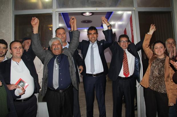SERİK CHP'DE ZAFER DEMİROĞLU'NUN