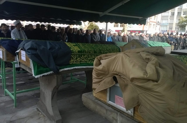 SOBADAN SIZAN GAZDAN ÖLEN ADAM TOPRAĞA VERİLDİ