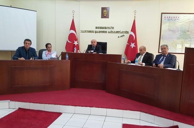 İL GENEL MECLİSİ ARALIK AYI TOPLANTISI YAPILDI