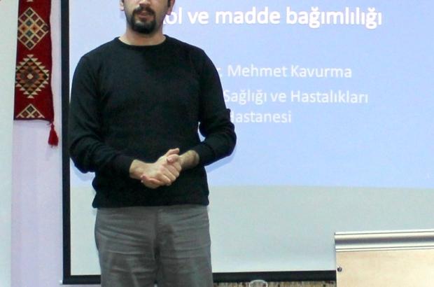 MAHKUMLARA 'UYUŞTURUCU VE MADDE BAĞIMLILIĞI' SEMİNERİ