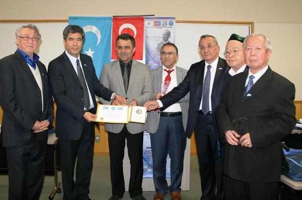 TKÜUGD BAŞKANI YAVUZASLAN'A 'SÜRGÜN' ÖDÜLÜ