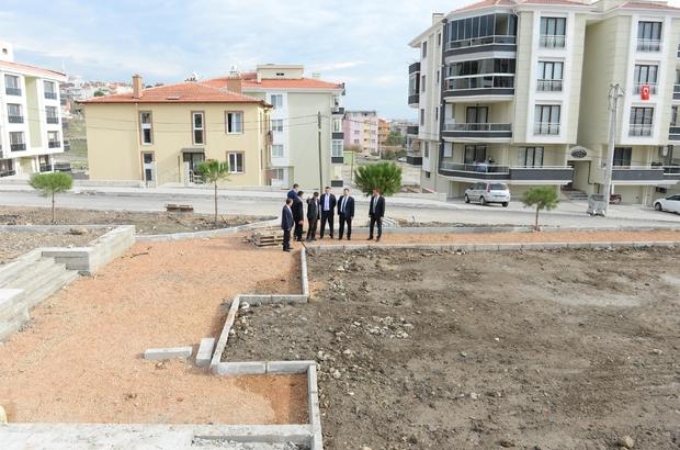 KARESİ'DE PARK YAPIMLARI DEVAM EDİYOR