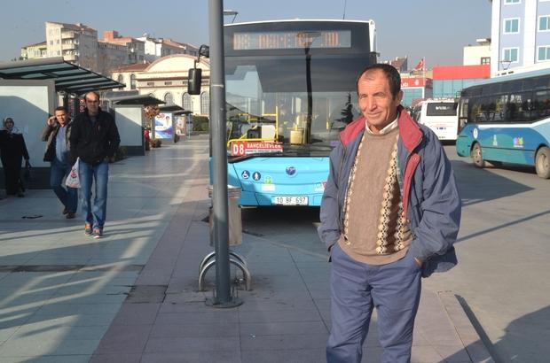 BALIKESİR'DE OTOBÜS ŞOFÖRLERİ DERTLİ