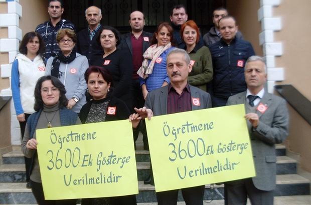 EĞİTİM-İŞ, 1. DERECE EK GÖSTERGENİN 3600 OLMASI İÇİN İMZA KAMPANYASI BAŞLATTI