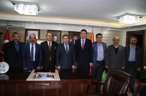 SESOB BAŞKANI KÖKSAL'DAN, AK PARTİ'YE ZİYARET