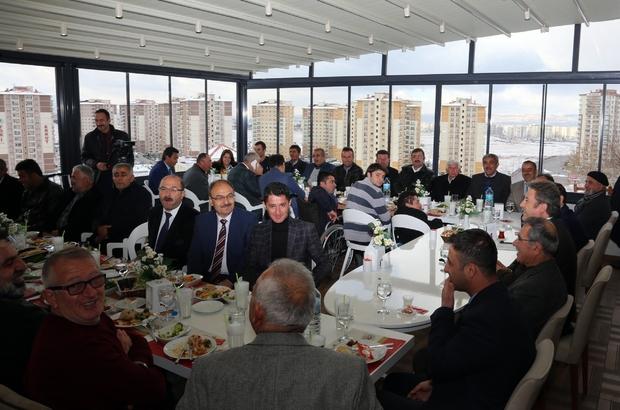 TALAS'TA MUHTARLARLA İSTİŞARE TOPLANTISI