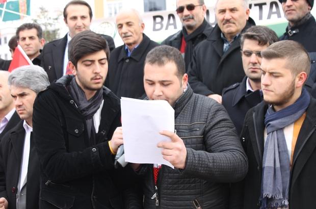 İHH TÜRKMENLERE UYGULANAN ZULMÜ PROTESTO ETTİ