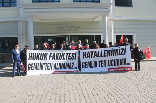 """GEMLİKLİLERİN """"HUKUK"""" MÜCADELESİ"""