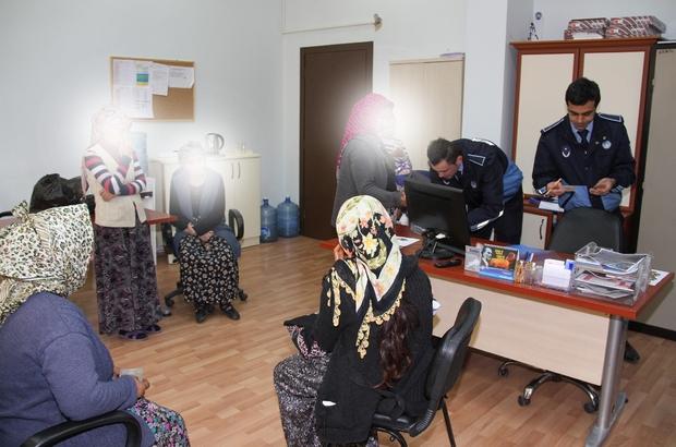 MERKEZEFENDİ'DE DİLENCİ OPERASYONU