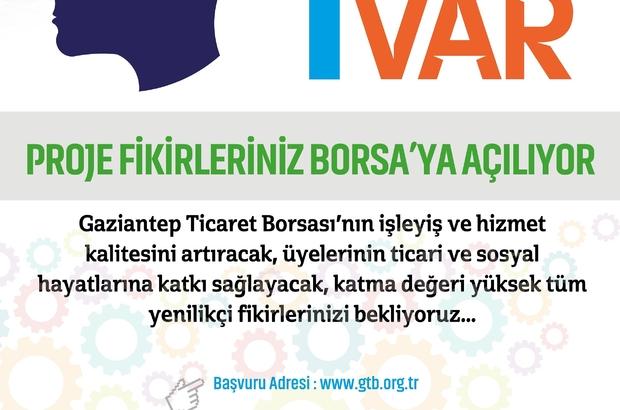 """BİR FİKRİM VAR"""" PROJESİNDE BAŞVURULAR BAŞLADI"""