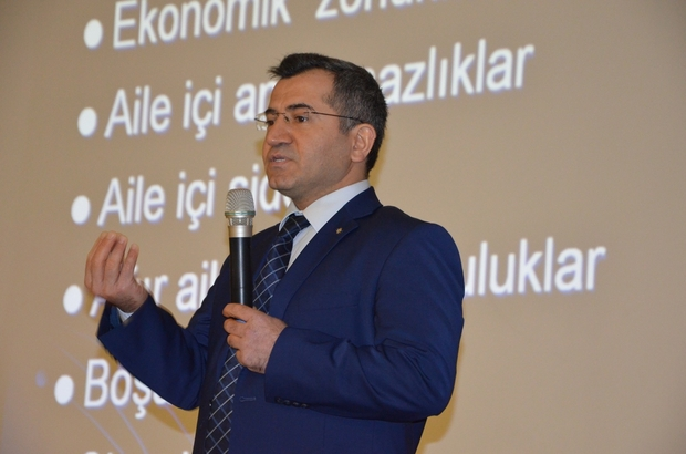 ŞANLIURFA'DA STRES VE MOTİVASYON KONFERANSI DÜZENLENDİ