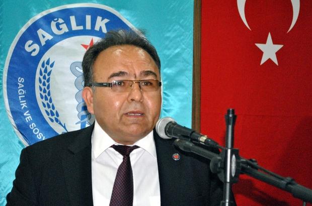 """KARAER: """"İŞ GÜVENCEMİZE KİMSE DOKUNAMAZ"""""""