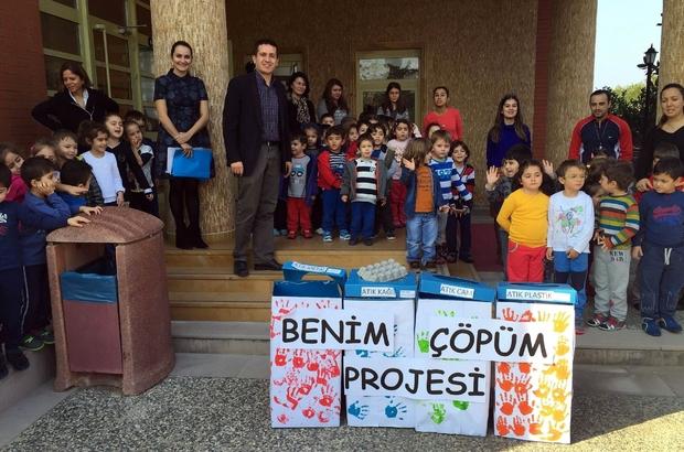 BODRUM'DA MİNİKLERE GERİ KAZANIM SEMİNERİ