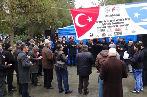 KIRIKKALE'DE BAYIR-BUCAK TÜRKMENLERİ'NE YARDIM KAMPANYASI