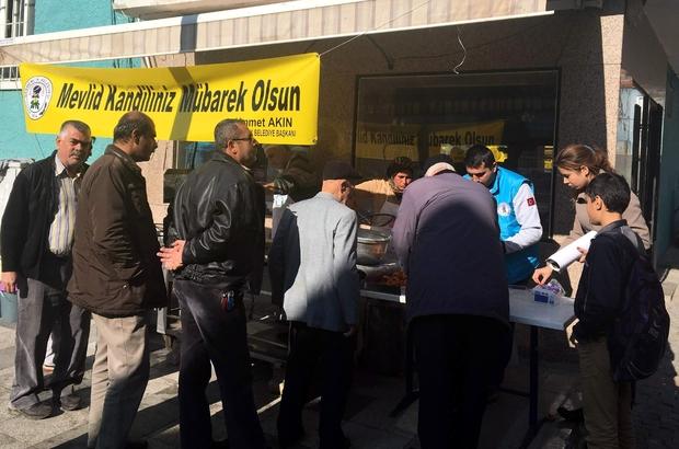 GERMENCİK BELEDİYESİ'NDEN MEVLİD KANDİLİNDE LOKMA HAYRI